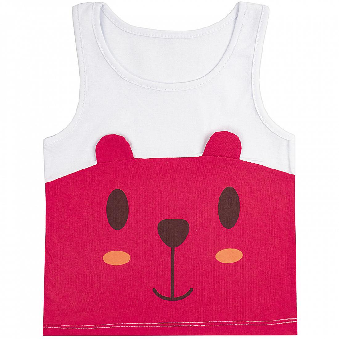 Купить 340К, Майка детская Юлла, цв. красный р. 80, Детские футболки