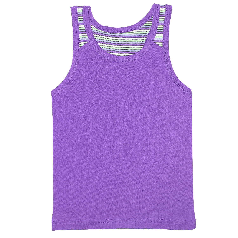 Купить 292к, Майка детская Юлла, цв. фиолетовый р. 80, Детские футболки