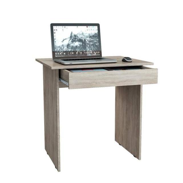 Компьютерный стол МФ Мастер Милан-2Я МСТ-СДМ-2Я-ДС-16 76,4x60x75, дуб сонома