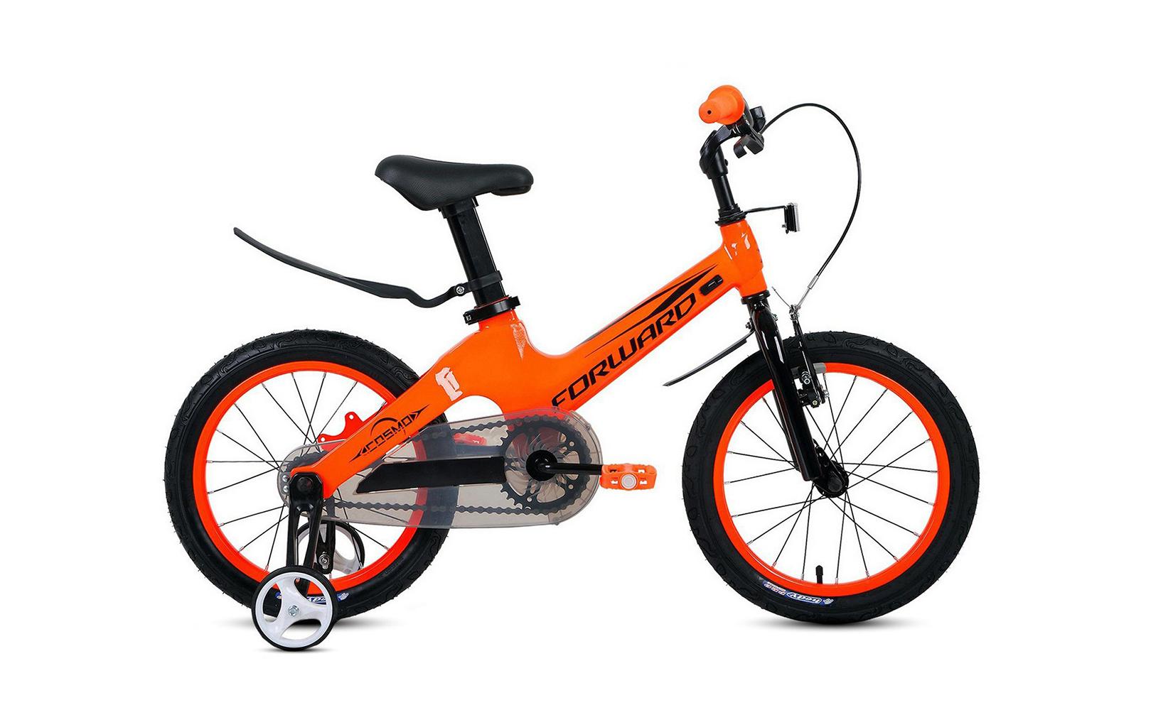Купить Cosmo 18 2.0 (2020) (One size), Детский велосипед Forward Cosmo 18 2.0 2020 оранжевый, Детские двухколесные велосипеды