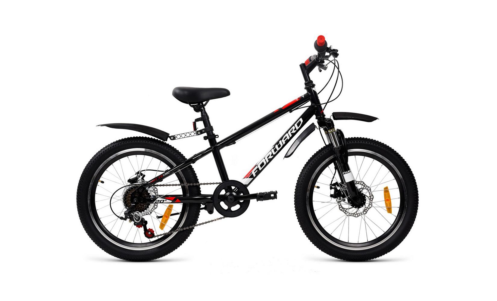 Купить Unit 20 3.0 disc (2020) (10, 5), Детский велосипед Forward Unit 20 3.0 disc 2020 черный, Детские двухколесные велосипеды