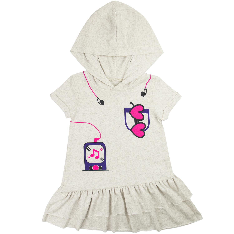 Купить 938к ап, Платье детское Юлла, цв. бежевый р. 110, Платья для девочек