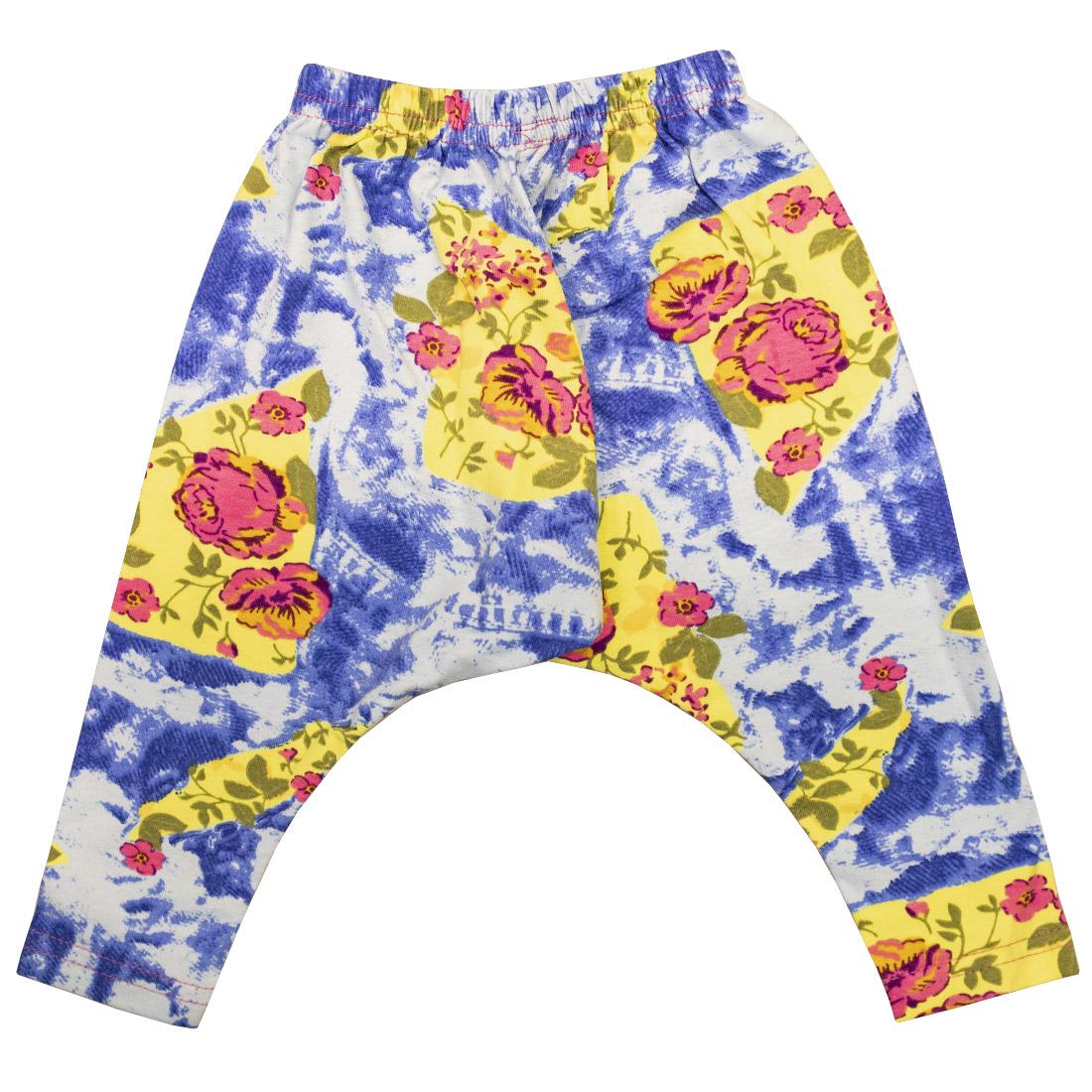 Купить 373К, Леггинсы детские Юлла, цв. голубой р. 68, Шорты и брюки для новорожденных