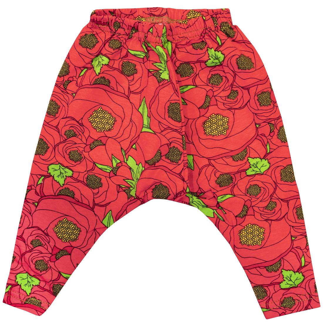 Купить 373К, Леггинсы детские Юлла, цв. красный р.68, Шорты и брюки для новорожденных