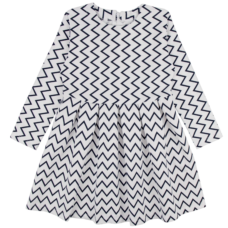 Купить 878фд, Платье детское Юлла, цв. белый р. 92, Платья для новорожденных