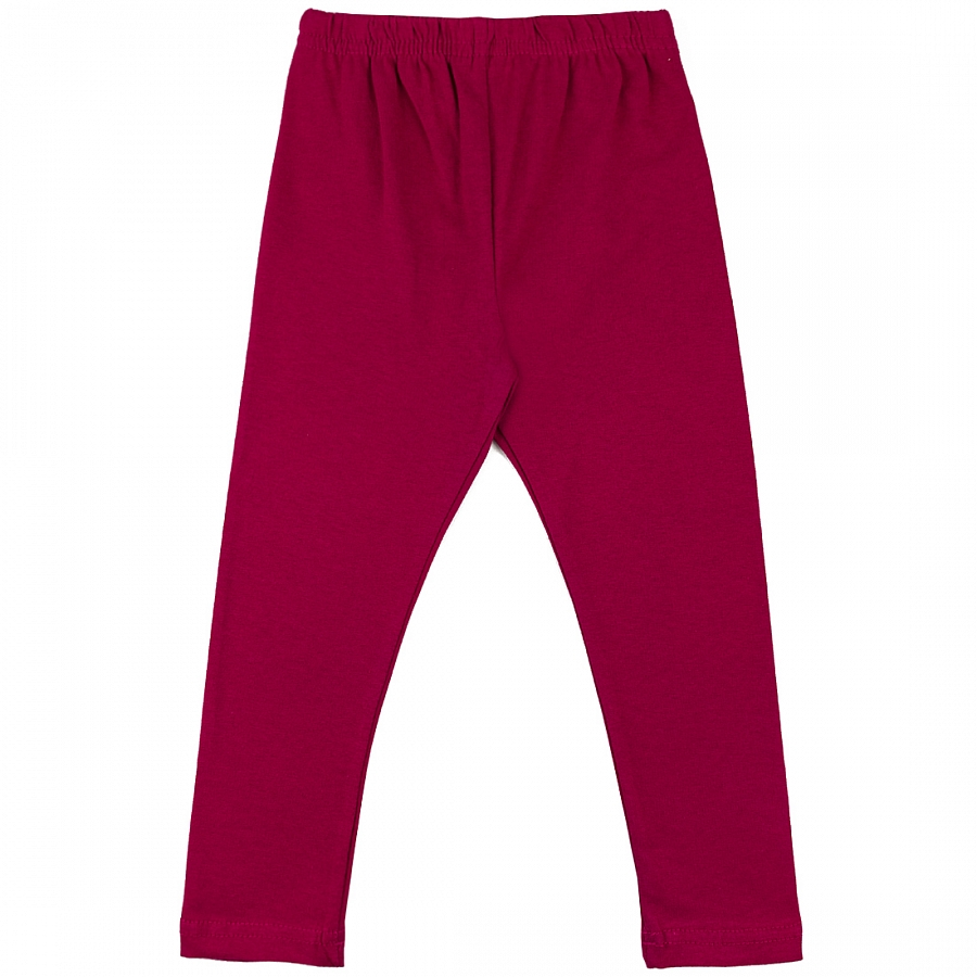 Купить 129/2к, Леггинсы детские Юлла, цв. бордовый р. 92, Шорты и брюки для новорожденных