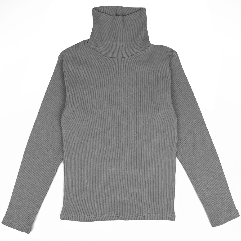 Купить 079К, Водолазка детская Юлла, цв. серый р. 134, Водолазки для мальчиков
