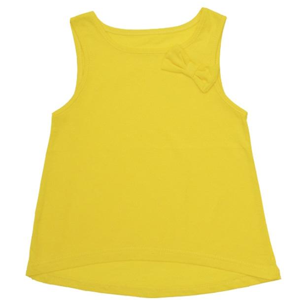 Купить 262к, Майка детская Юлла, цв. желтый р. 80, Детские футболки