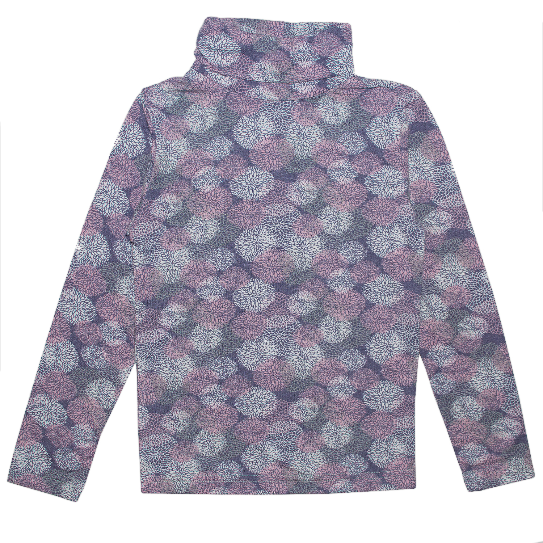 Купить 386ВС, Водолазка детская Юлла, цв. фиолетовый р. 134, Водолазки для девочек