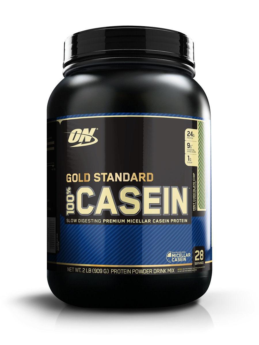 Протеин Optimum Nutrition 100% Casein Protein 909 г Cookie Dough фото