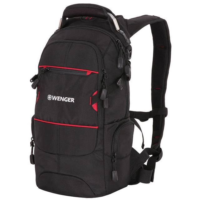 Рюкзак Wenger Narrow Hiking черный/красный 22 л
