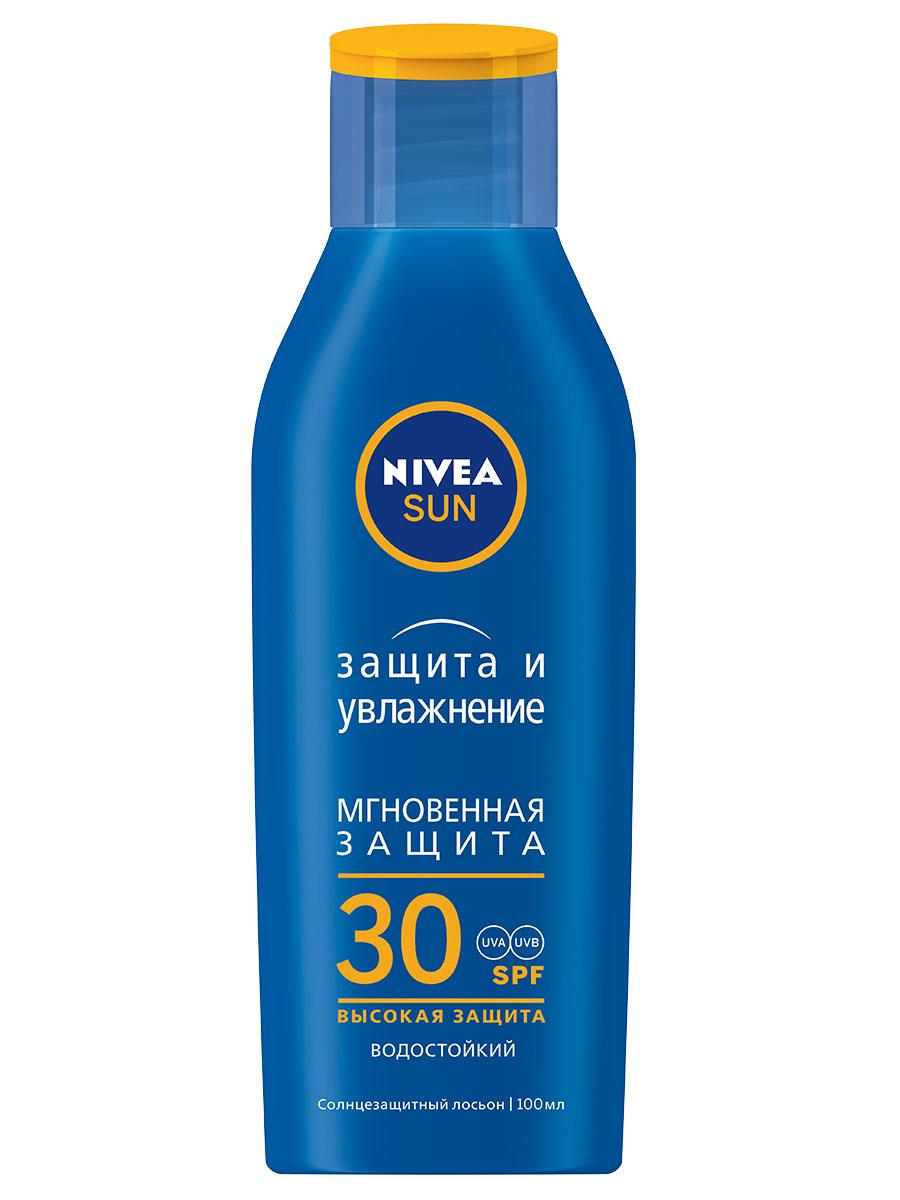 Солнцезащитное средство NIVEA Защита и Увлажнение Лосьон