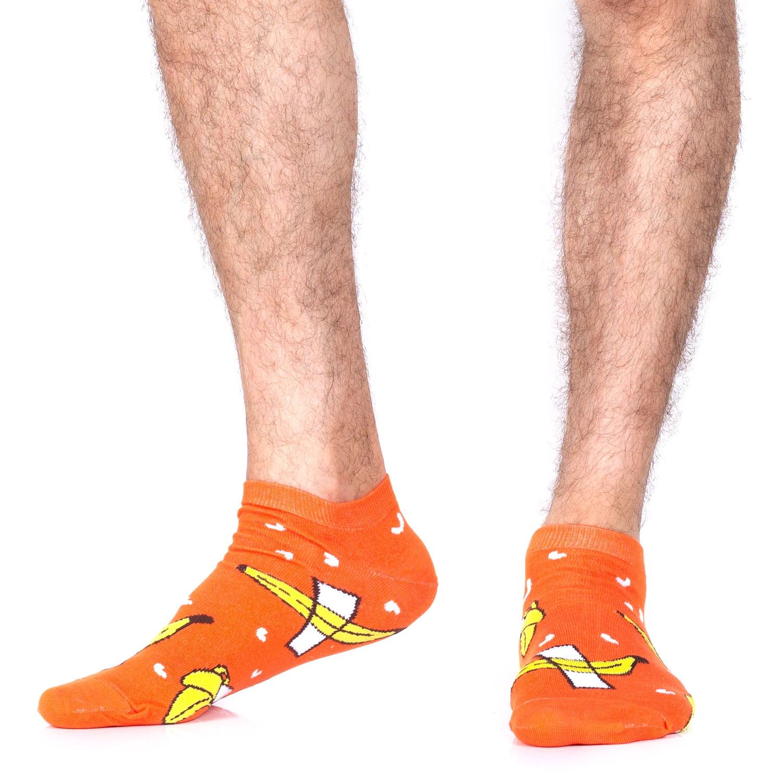 Носки St.Friday Socks Бананы оранжевые 42-46