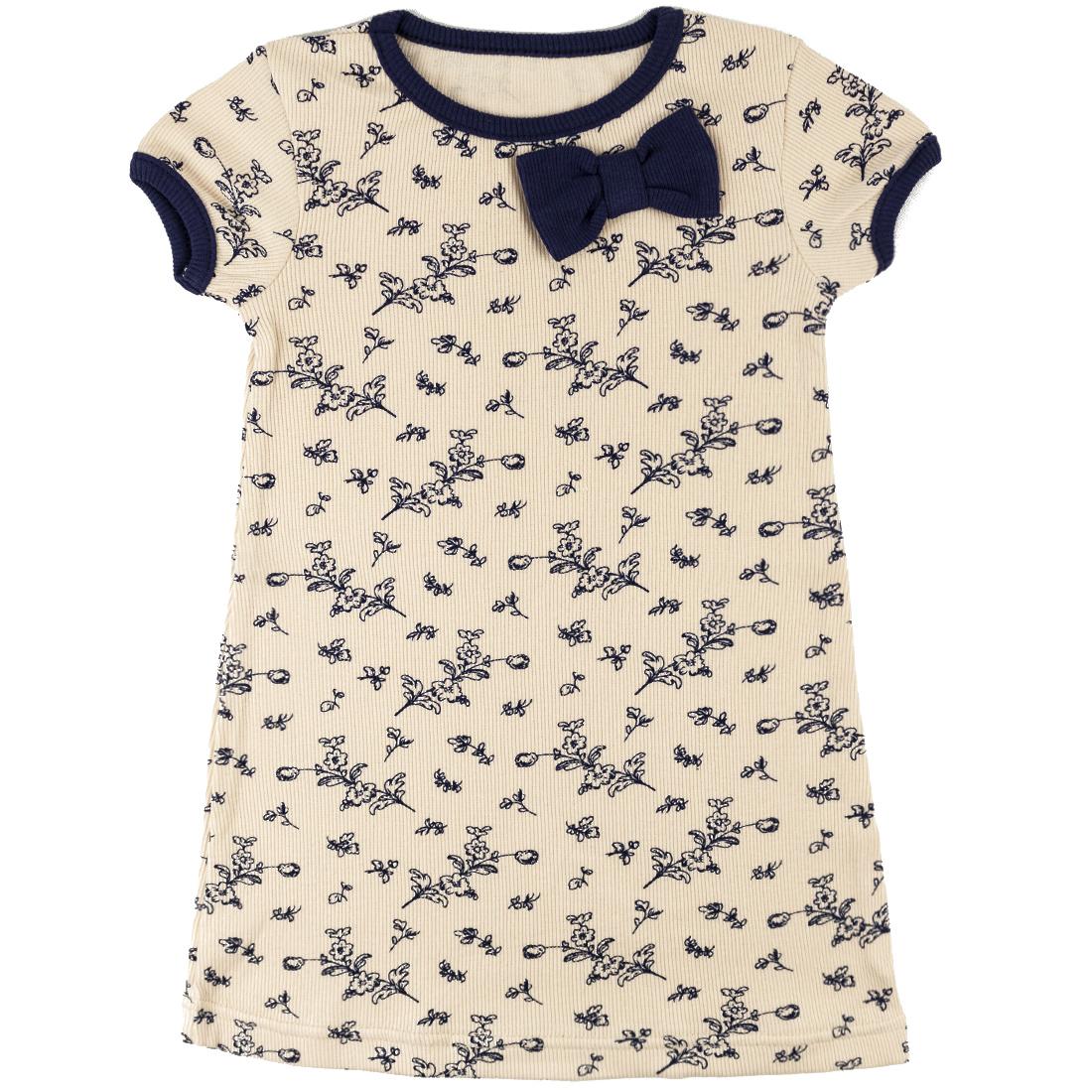 377КС, Платье детское Юлла, цв. бежевый р. 110, Платья для девочек  - купить со скидкой