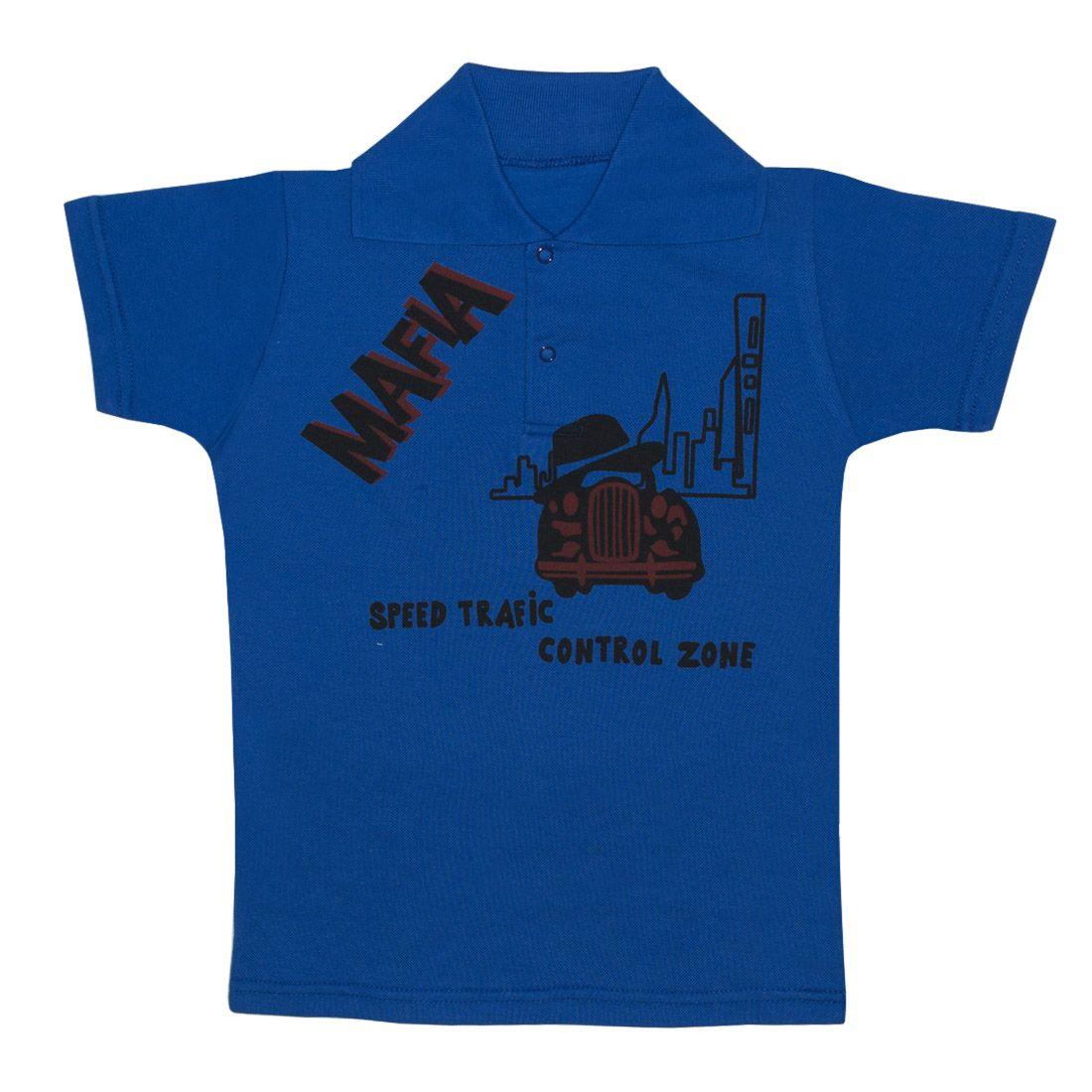Купить 105п п, Поло детское Юлла, цв. синий р. 134, Футболки для мальчиков