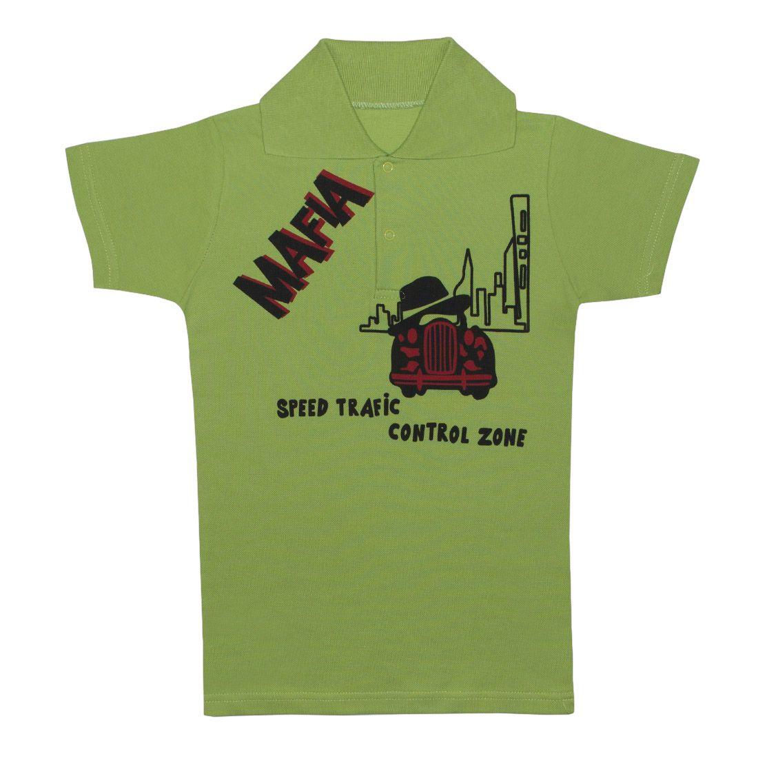 Купить 105п п, Поло детское Юлла, цв. зеленый р. 134, Футболки для мальчиков