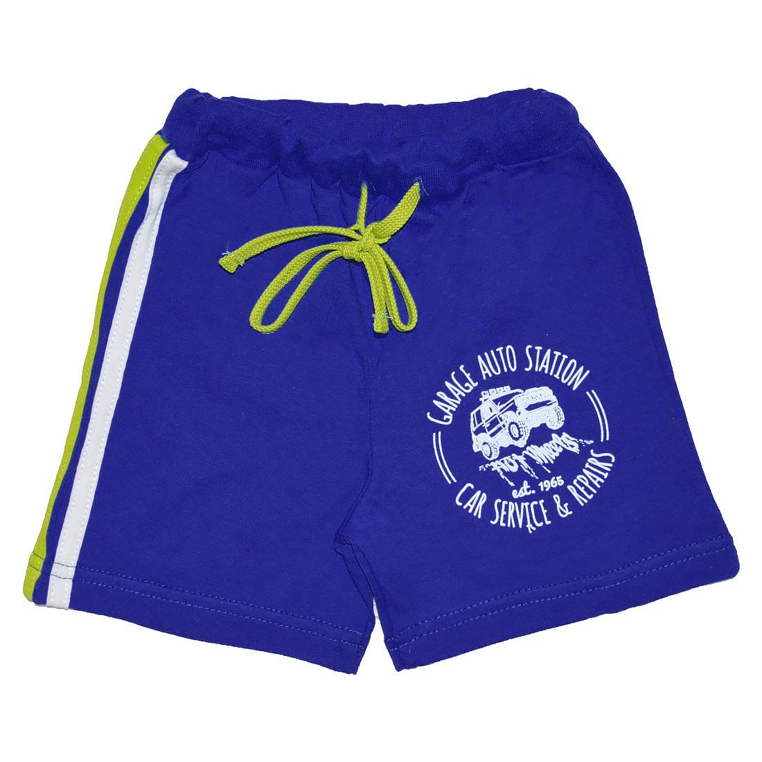 Купить 613к ап, Шорты детские Юлла, цв. синий р. 92, Шорты и брюки для новорожденных
