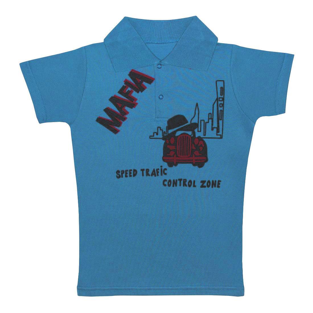 Купить 105п п, Поло детское Юлла, цв. голубой р. 134, Футболки для мальчиков