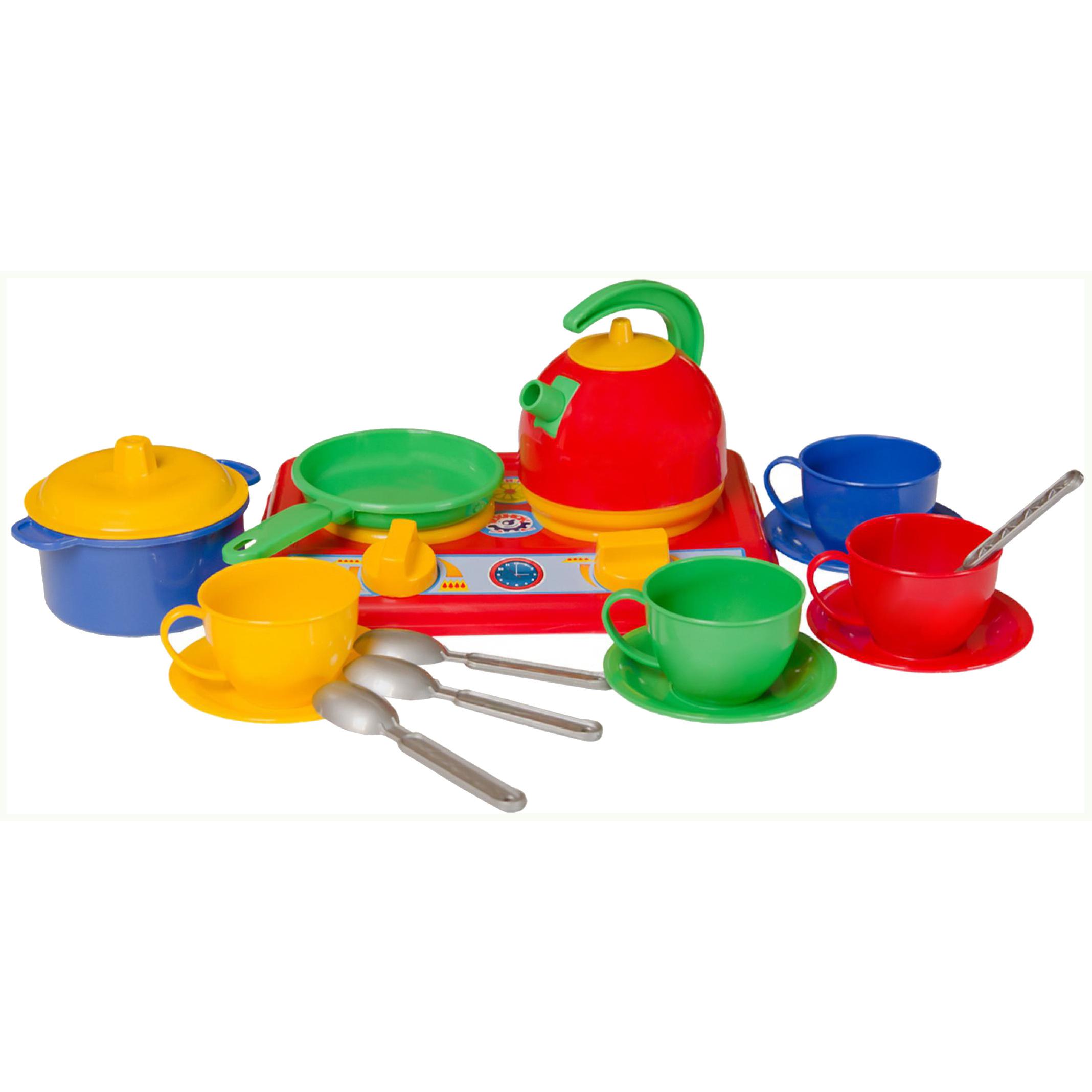Набор детской посуды ТехноК Галинка №5 17 элементов 1851 фото