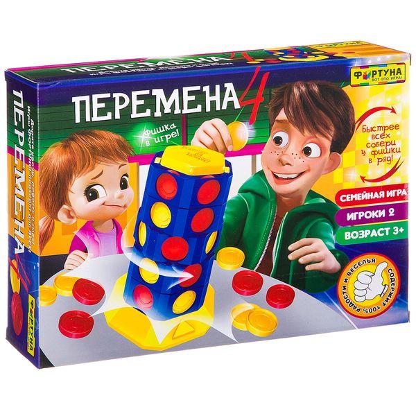 Купить Настольная игра Фортуна Перемена 4, Семейные настольные игры