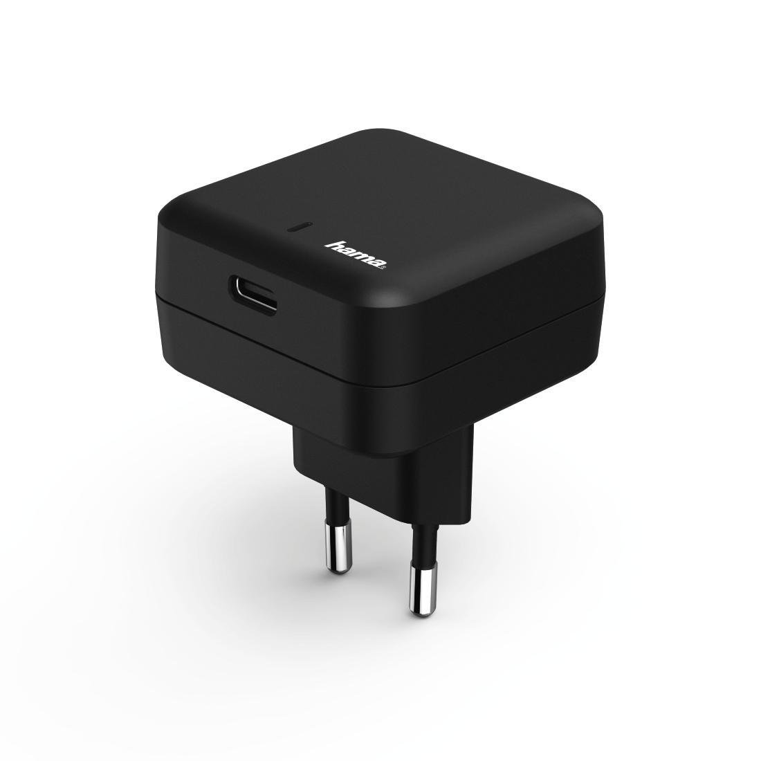 Сетевое зарядное устройство Hama 178312 Prime Line Black