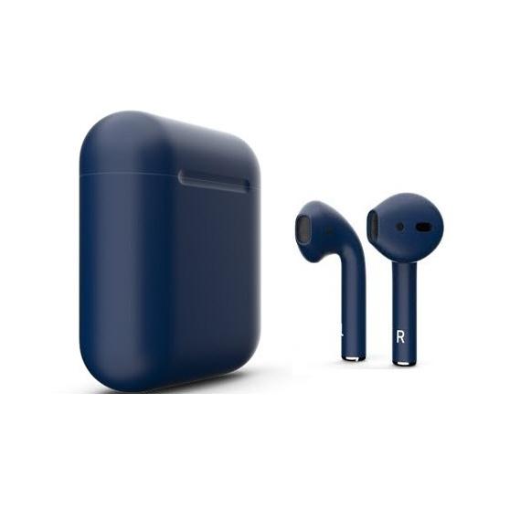 Наушники Apple AirPods Color 2 в футляре без беспроводной зарядки (Midnight Blue Matte) фото