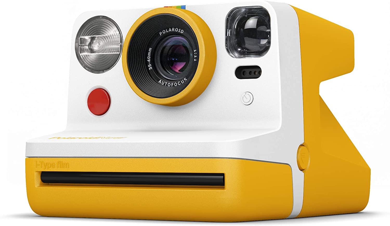 Фотоаппарат моментальной печати Polaroid Now Yellow