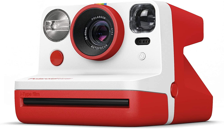Фотоаппарат моментальной печати Polaroid Now Red