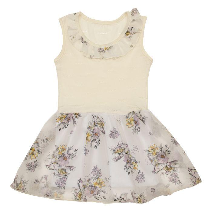 Купить 415к/ш, Платье детское Юлла, цв. белый р. 92, Платья для новорожденных