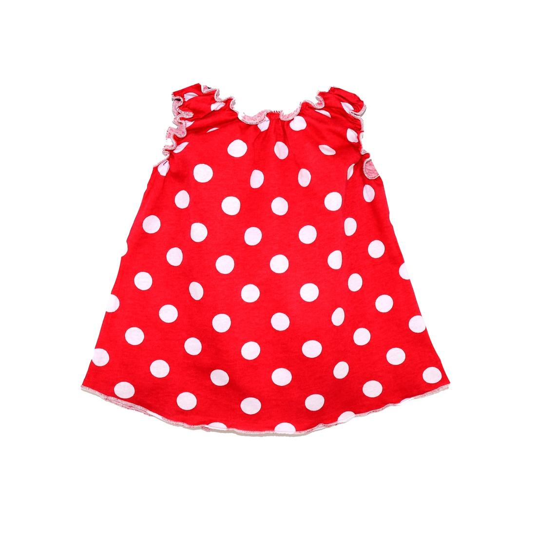 108К, Майка детская Юлла, цв. красный р. 80, Детские футболки  - купить со скидкой