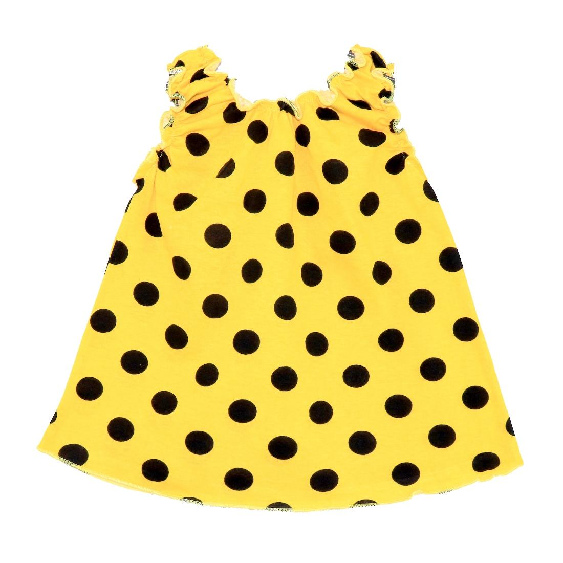 Купить 108К, Майка детская Юлла, цв. желтый р. 80, Детские футболки