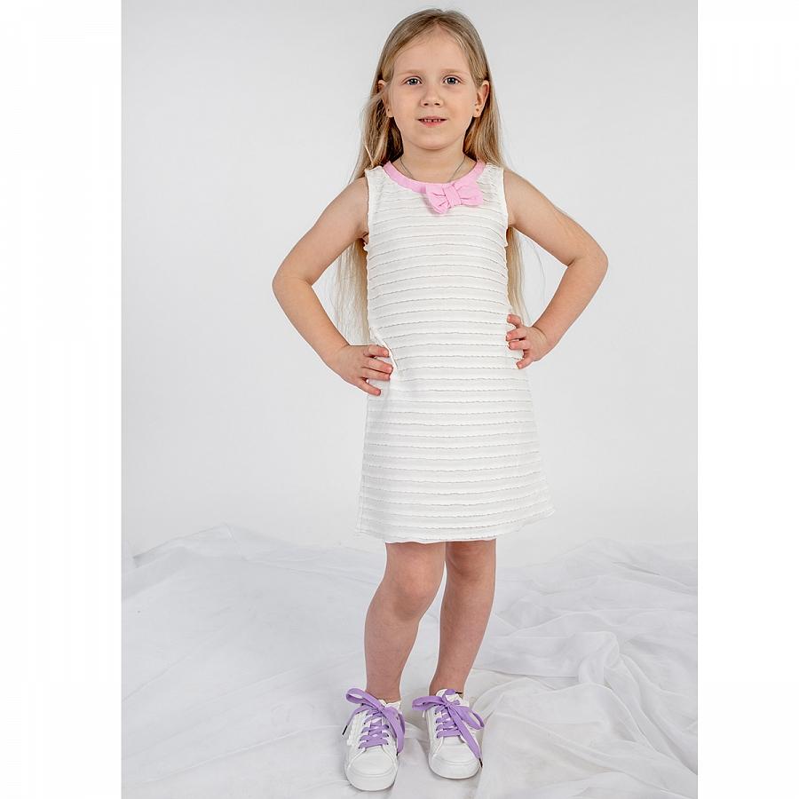 Купить 284К, Платье детское Юлла, цв. белый р. 92, Платья для новорожденных