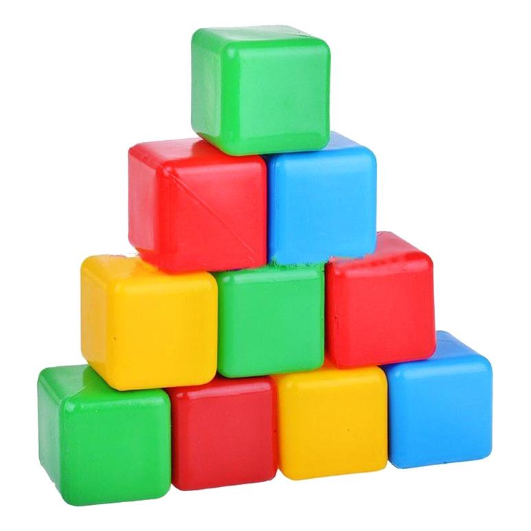 Детские кубики Пластмастер Плэйдорадо Цветные фото