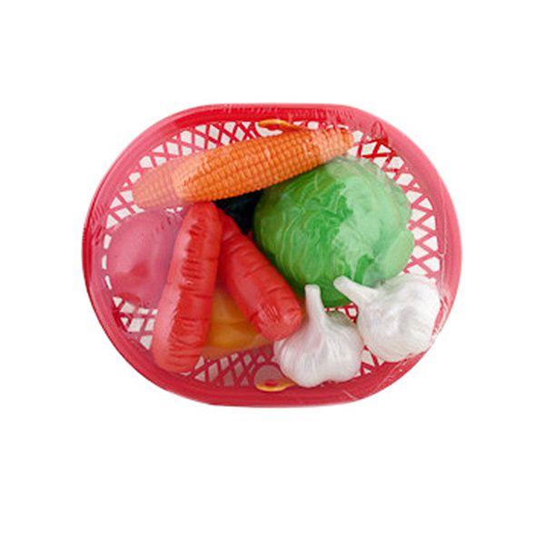 Набор овощей Нордпласт в лукошке, 10 предметов
