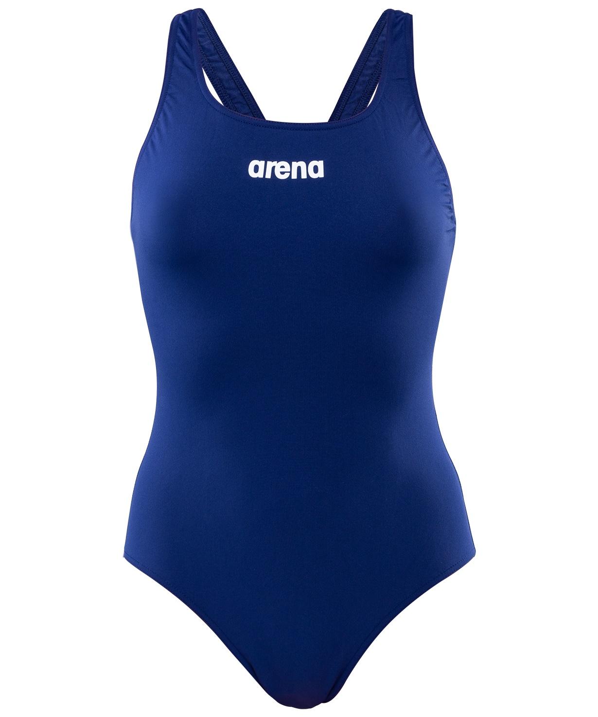 Купальник совместный Arena Solid Swim Pro Navy/White,
