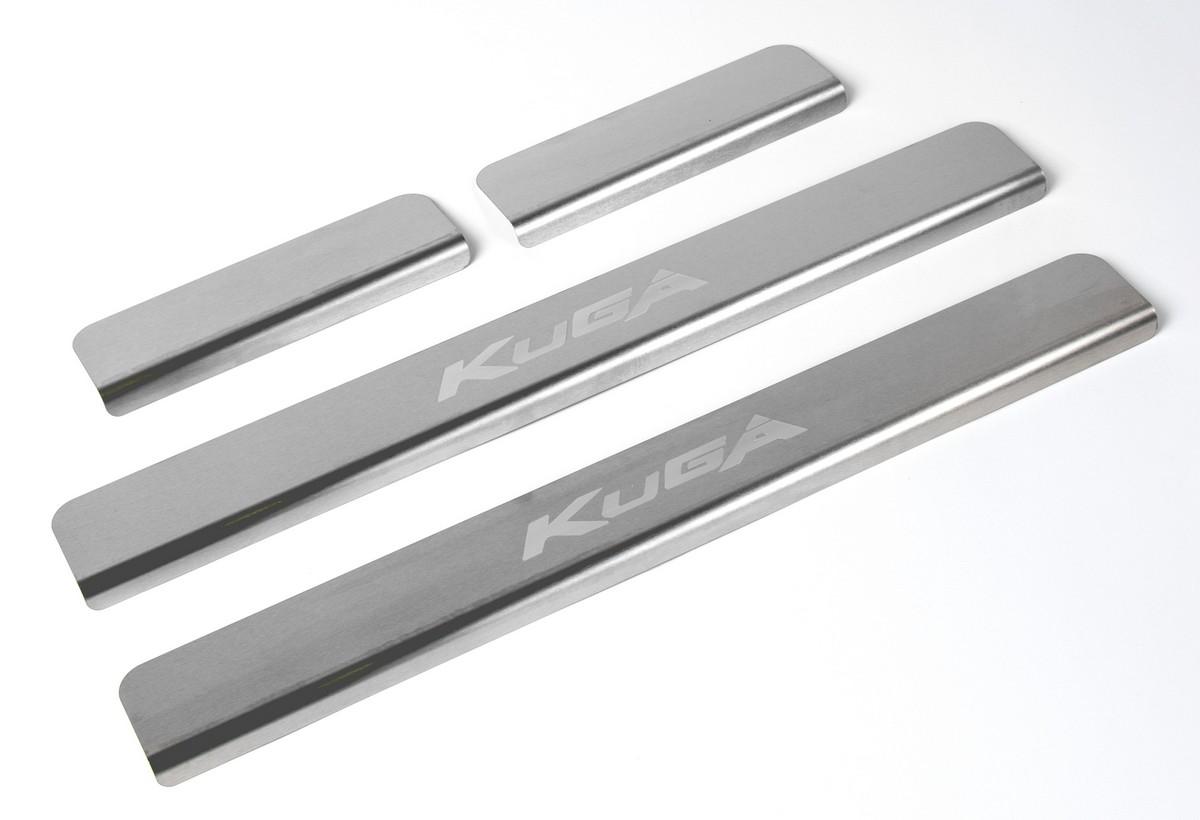 Накладки порогов Rival Ford Kuga II 2013