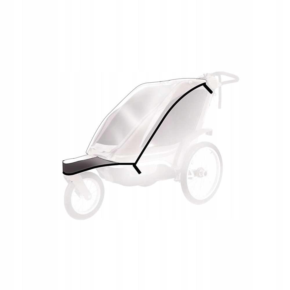 Дождевик THULE на детскую коляску Chariot Chinook