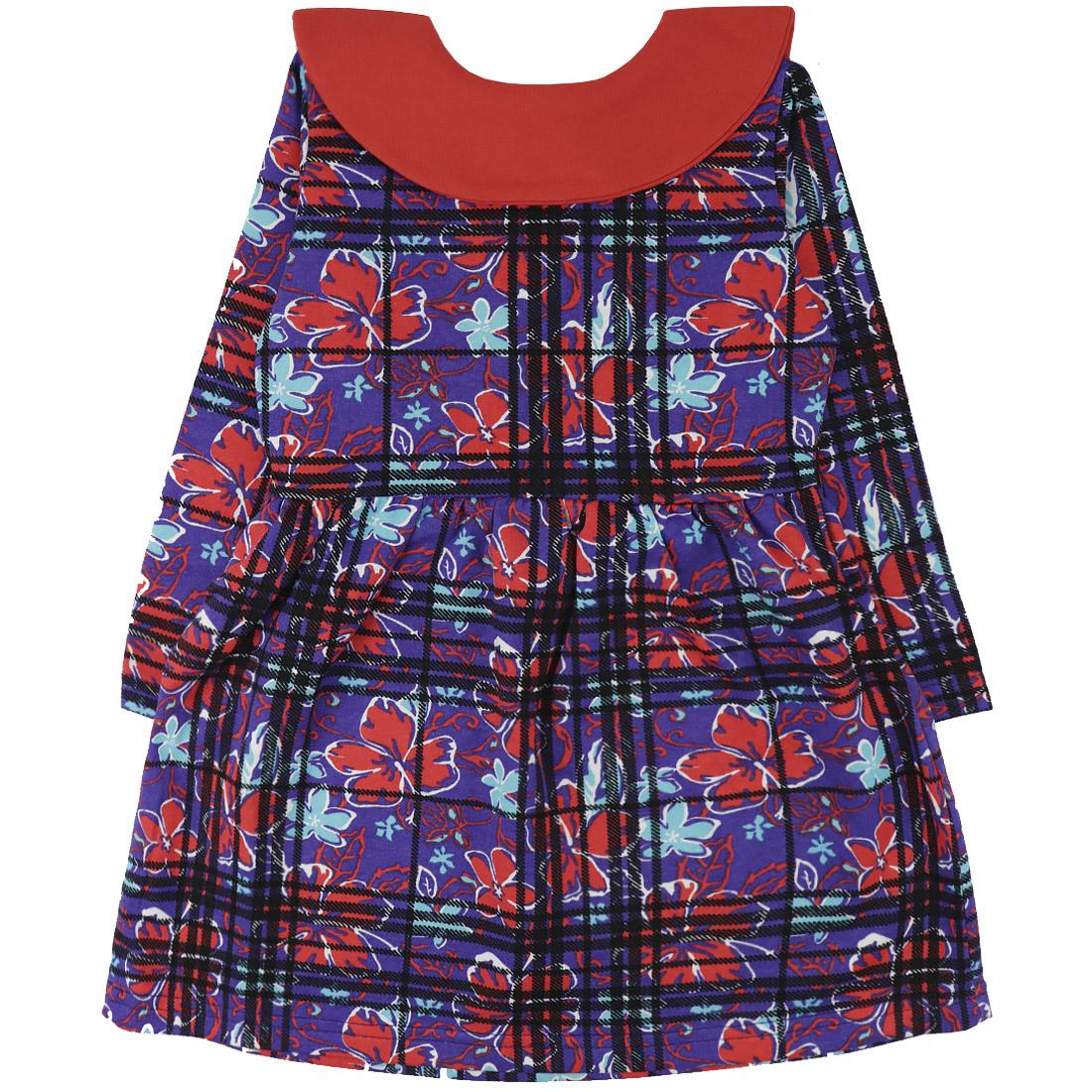 Купить 278Ф, Платье детское Юлла, цв. фиолетовый р. 110, Платья для девочек