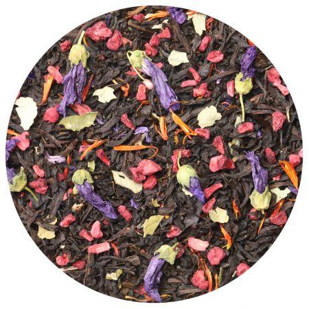 Черный чай Ежевика с малиной (кат. B), 100 г фото