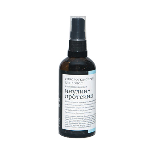 Сыворотка-спрей для волос Инулин+протеины Краснополянская косметика 100 мл