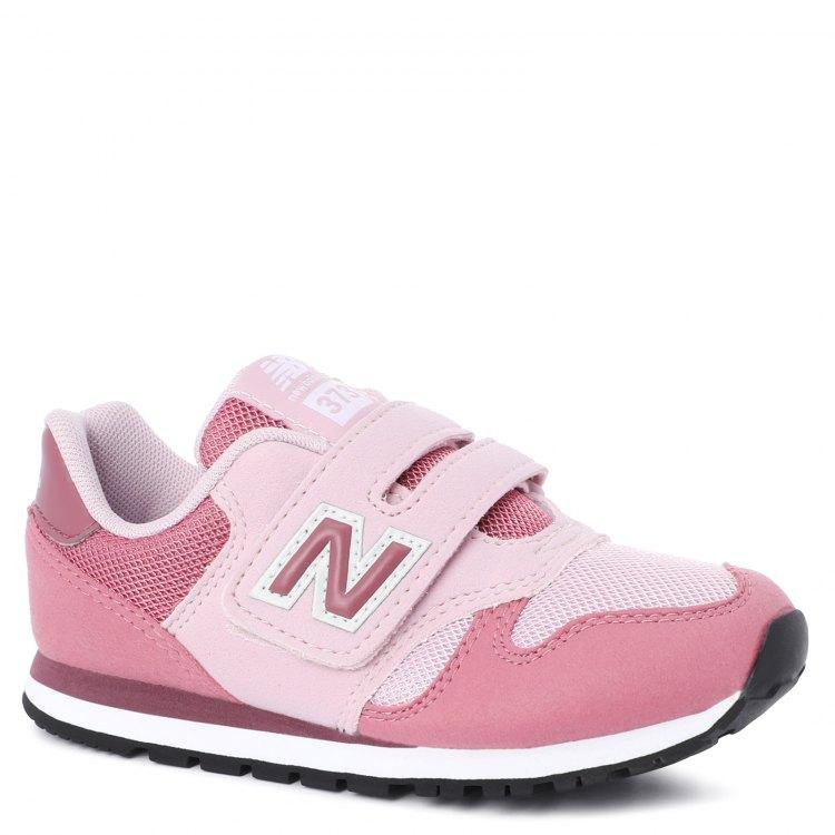 Купить YV373_2235849, Кроссовки детские New Balance, цв. розовый р.33, Детские кроссовки