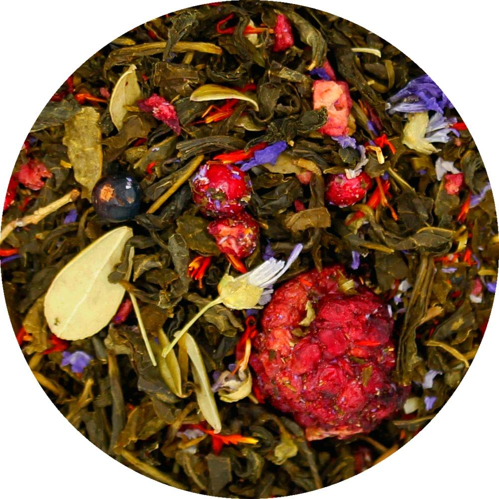 Зеленый чай Таежный Сбор зеленый (премиум), 100 г фото