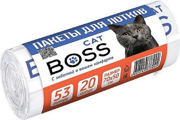 Пакеты для кошачьих лотков CatBoss, рулон,