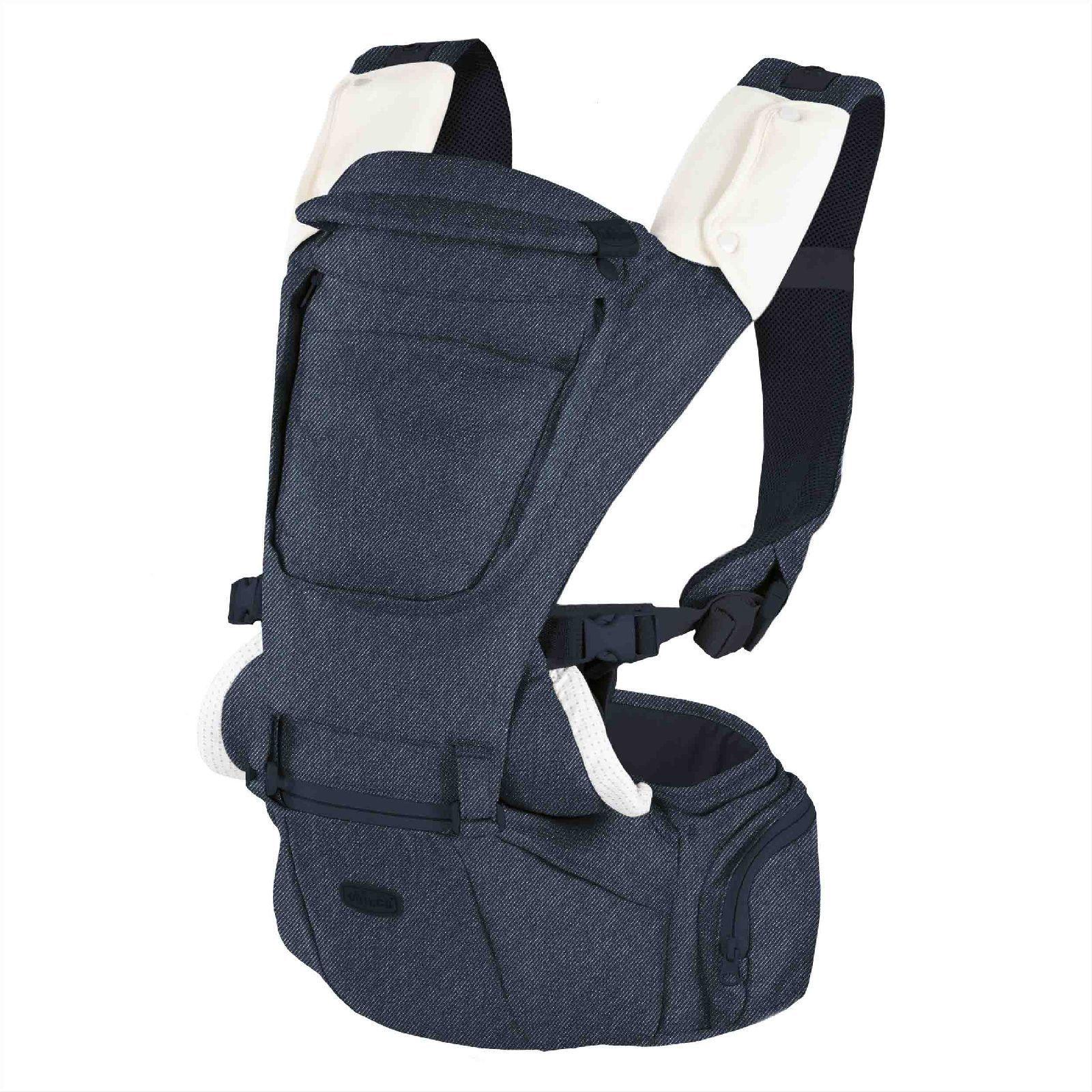 Купить Переноска-трансформер Chicco Hip Seat Carrier расцветка Denim,