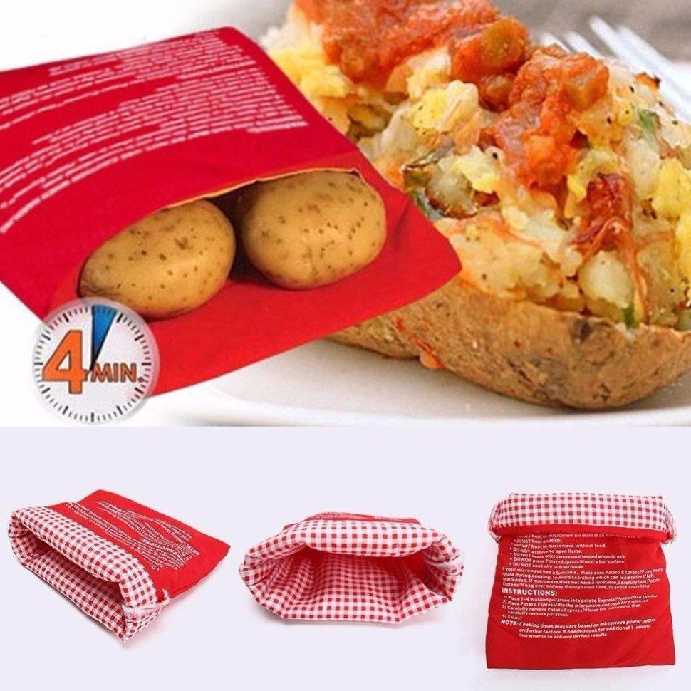 Мешок для запекания картофеля в микроволновке «Potato
