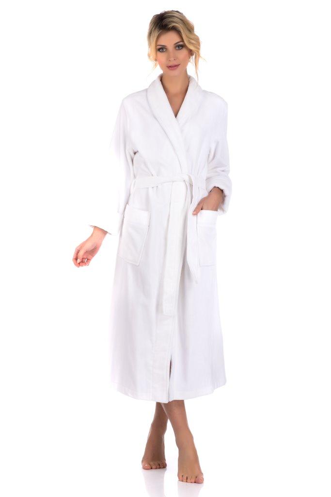 Домашний халат женский Peche Monnaie NATUREL Woman белый S