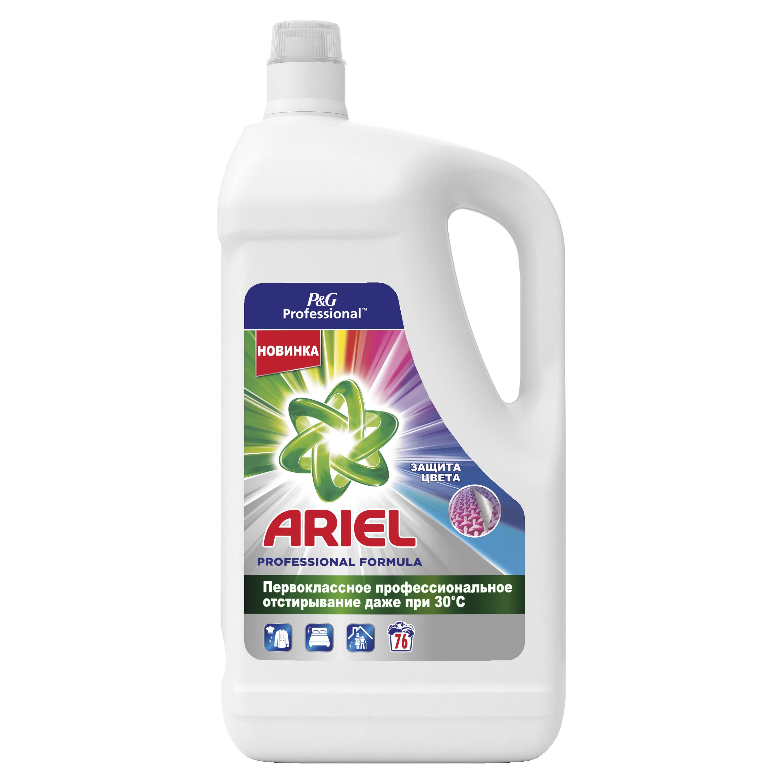 Ariel Professional Color Жидкий Стиральный Порошок 4.94л 76 Стирок