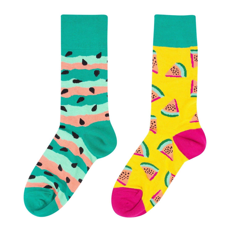 Носки женские Kawaii Factory Арбузы разноцветные 35-39