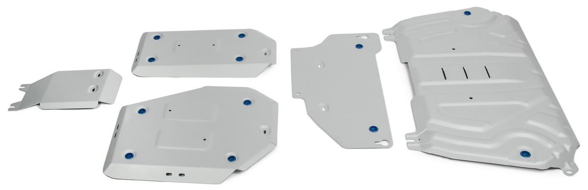 Защита картера, КПП, топливного бака и редуктора Rival Toyota RAV4 XA50 5 частей, K