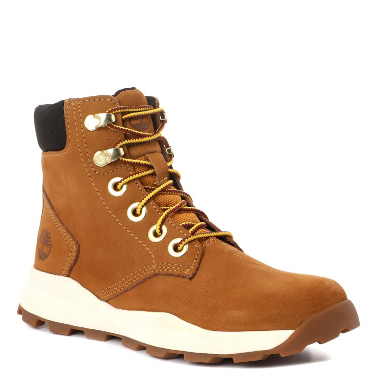 Купить Brooklyn Sneaker Boot_2089651, Ботинки для мальчиков Timberland, цв. светло-коричневый, р.31, Детские ботинки